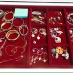 Maroon Jewelry Insert