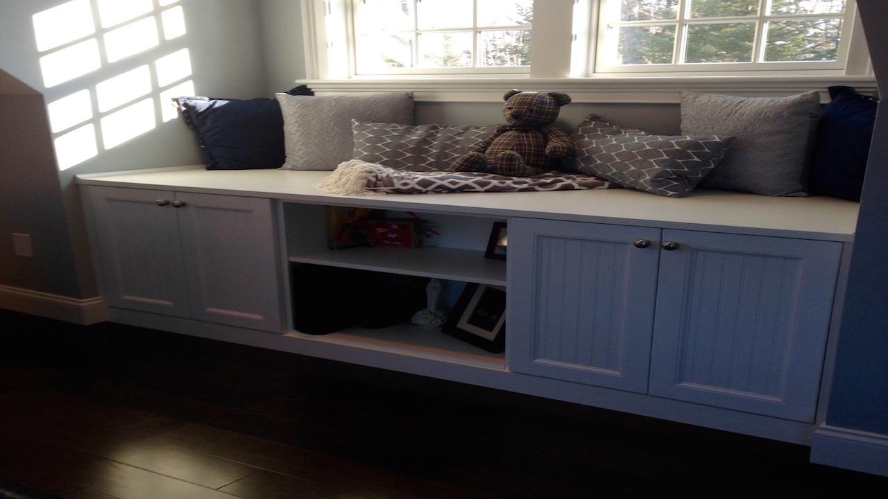 White-Window-Bench